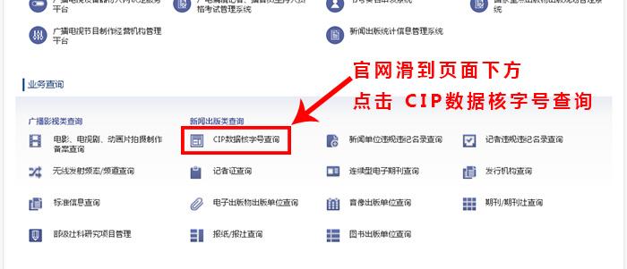 如何查询CIP数据