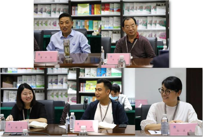 东北师范大学出版社莅临河南天一文化参观交流